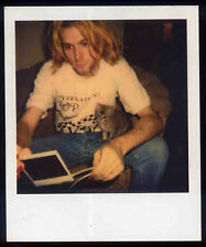 NIRVANA REPRO KURT COBAIN POLAROID PHOTO PHOTOGRAPH . NEVERMIND