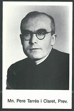 Estampa del Padre Pere Tarres andachtsbild santino holy card santini