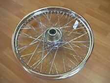 "60 SPOKE 21"" CHROME FRONT 21 X 3.25 WHEEL HARLEY SOFTAIL FXST FXSTC 84-99"