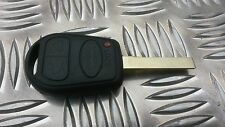 Land Rover Range Rover L322 VOGUE HSE 3 BUTTON REMOTE KEY Fob case shell + LOGO