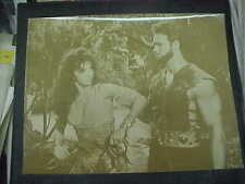 GOLIATH AND THE BARBARIANS, b/w dblwght 10x13 [Steve Reeves, Chelo Alonso]