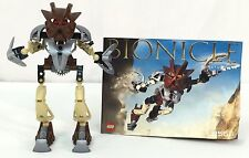 Lego Bionicle 8568 TOA POHATU NUVA Complete Figure w/ instructions