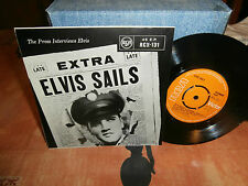 "elvis presley""sails'""ep7""anglais..rca victor rcx.131.label orange de 1969."