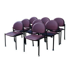 Vintage Purple Bola Ron Kemnitzer Side Chair