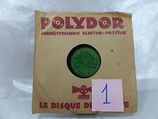 VINYLE 78T POLYDOR-JEAN FRANCOIS DE NANTES-Y A Z'UN PETIT BOIS