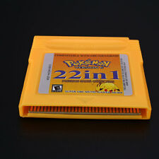 Game Boy Color SP GBC 22 In 1 Game Card For GBC/GBA/GBASP/NDSL Children Kids