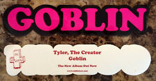 TYLER THE CREATOR Goblin Discontinued Ltd Ed NEW RARE Sticker OFWGKTA ODD FUTURE