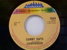 "LIGHTHOUSE ""SUNNY DAYS / LONELY PLACES"" 45 NEAR MINT"