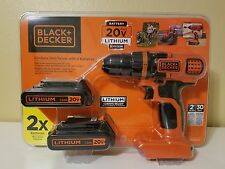 Black Decker LDX120C-2 20v MAX Cordless Drill Driver Screwdriver new in package