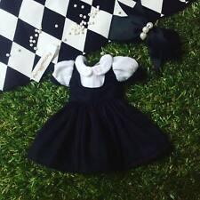 Black dress for Neo Blythe or Takara doll Dress Handmade doll clothes  PD006