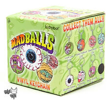 Mad Balls Kidrobot Vinyl Keychain Series - One(1) New Factory Sealed Blind Box