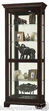 Howard Miller 680-579 Berends lll Curio Cabinet - Modern with Espresso Finish