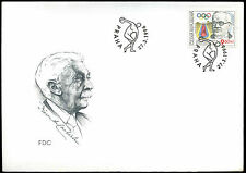 Czech Republic 1996 Olympic Games FDC First Day Cover #C38213