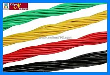 20 Meter Bread Board Jumper Wire,5 Meter Each of 4 Color,Free Wire Stripper