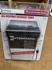 New Intermatic programmable 24-hour all-weather outdoor timer