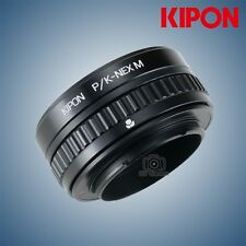 Kipon Adapter with Focus Helicoid for Pentax K Mount Lens to Sony NEX A72 camera