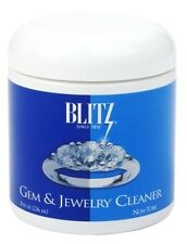 Blitz Gem and Jewelry Cleaner 8 oz Jar 0.5 FL oz Concentrate