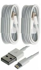2x LOT USB Data Sync Cable 8 PIN Charger fits Apple iPhone 6 Plus 5 5s 5c iOS 9