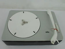 Dieter RAMS BRAUN PC 3 SV 1959-TURNTABLE NEW IN BOX Investment fully functional