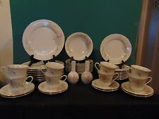 42 Piece Service For 8 Jamestown China Action Industries JAM2 Dish Set