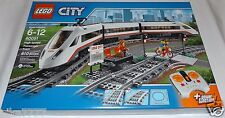LEGO City HIGH-SPEED PASSENGER TRAIN 60051 motorized locomotive remote control