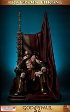 God of War Kratos on Throne Statue 74 cm Gaming Heads Figur
