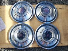 "1970 DODGE CHARGER 14"" HUBCAPS 71 DART WHEEL COVERS (1)"