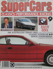 SUPERCARS magazine Issue 9 Featuring BMW 850i Cutaway drawing & poster