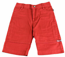 JACADI Boy's Maker Bright Red Bermuda Shorts Age: 6 Years NWT $50