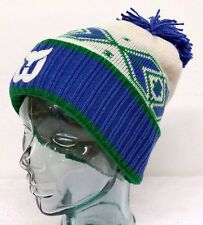 Hartford Whalers Retro Winter Hat With Pom New With Tags by Mitchell & Ness