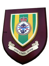 Joint Cimic Group Military Wall Plaque UK Made for MOD