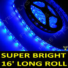 Blue Boat Accent Light Waterproof LED Lighting Strip 300 5050 SMD LEDs 16 ft/5M
