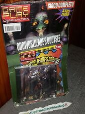 ODDWORLD ABE'S ODDYSEE GIOCO COMPLETO x PC NUOVO SIGILLATO-RARO PAL!NEW & SEALED