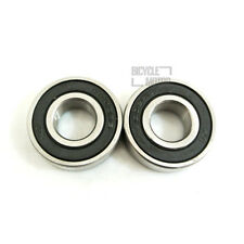 2pc 15mm Axle Rubber Sealed Ball Bearing Fit 6202 RS For Pit Dirt Bike SDG Wheel