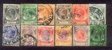 1935 Malaysia Malaya Straits Settlements stamps