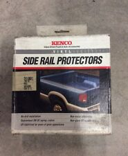 Kenco Truck Side Rail Protector Black Vinyl Universal Long Bed NEW