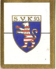 Fußball SAMMELBILD KURMARK SPORTWAPPEN S7 B14 1930-31 SV KURHESSEN 93 KASSEL