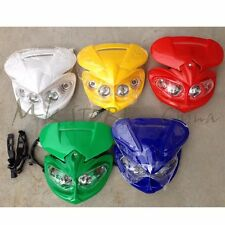 Head Light Fairing Dual Sport Lamp Street Fighter for Motorc OFF ROAD DUAL SPORT
