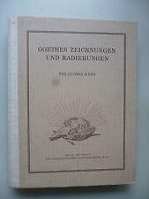 Goethes Zeichnungen und Radierungen 1949 Goethe