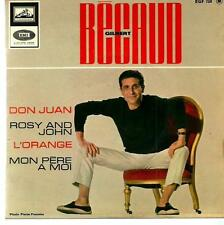 Gilbert Bacaud : Don Juan / Rosy and John /  ..... vinile 45 giri / 7""