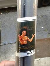 poster bruce lee  tipo telato con tubicini contrappeso 70x90cm circa pezzo unico