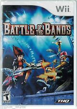 Battle of the Bands  (Nintendo Wii, 2008) Factory Sealed