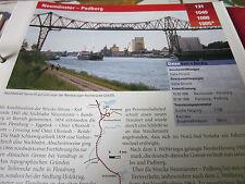 Archiv  Eisenbahnstrecken 131 Neumünster Padborg