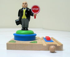 Thomas & Friends, Sir Topham Hatt STOP/GO Switch, EUC, 2003