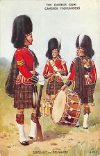 BR64748 the queen s own cameron highlanders   army military militaria england