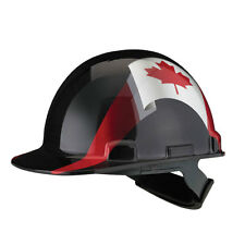 Dynamic Safety Hard Hat Helmet Canada Flag Camouflage Casque de Construction