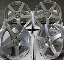 "17"" SILVER PACE ALLOY WHEELS FITS 4x100 BMW MAZDA MITSUBISHI NISSAN MODELS"