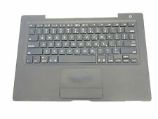 "Black Top Case US Keyboard Trackpad Touchpad for MacBook 13"" A1181 2006 Mid 2007"