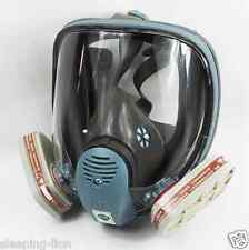 For 3M 6800 Gas Mask Full Face Facepiece Respirator 7 Piece Painting Spraying