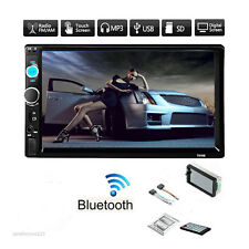 Goldfox Bluetooth Radio FM Stereo Car Vehicle 1080P 2 Din In Dash MP5 MP3 Player